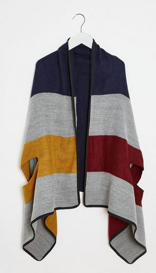 Asos Stripe Cape.JPG