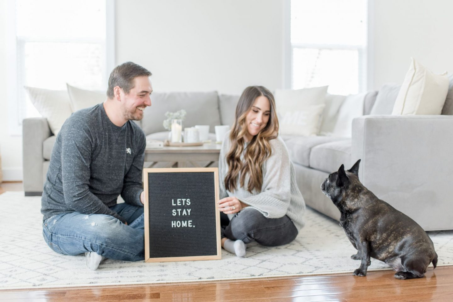 Making a House a Home and Our New Normal