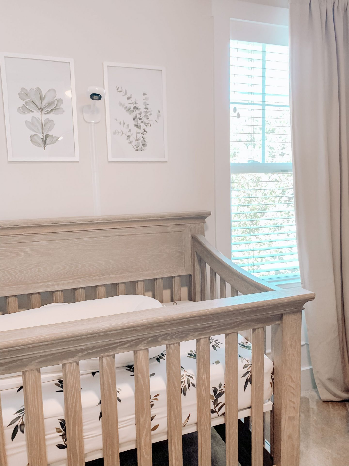 Currently Expecting: Our Bright and Airy Nursery Reveal